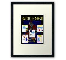 Howard Hill: Golden H - The Unused Cover Framed Print