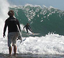 Surfin' - Kalbarri W.A. by Caroline Scott