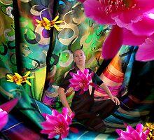 "Happy birhtday to the "" RAINBOW ARTIST ""  -  Myself ! by Nira Dabush"