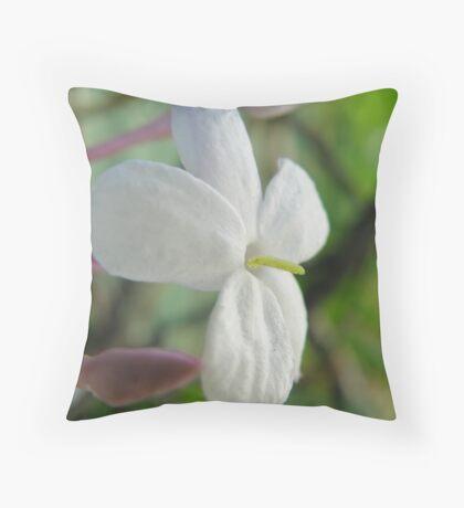 Cheeky Jasmine Throw Pillow