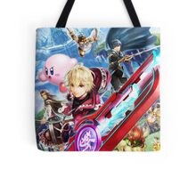 Super Smash Bros - Shulk, Kirby, Bowser, Marth, Ike Tote Bag