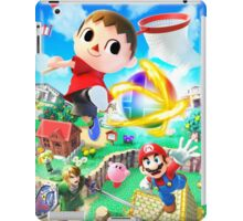 Super Smash Bros - Villager, Mario, Kirby, Link iPad Case/Skin