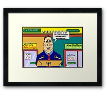 The Sorry Speech Framed Print