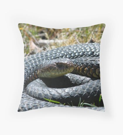 another copperhead Throw Pillow