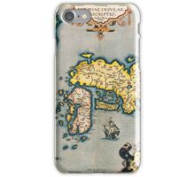 Old map 88 iPhone Case/Skin