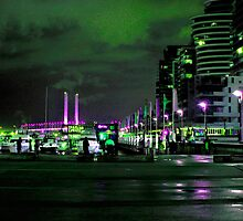Nightly Fishing at Docklands  by haymelter