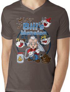 Bill's Mansion Mens V-Neck T-Shirt