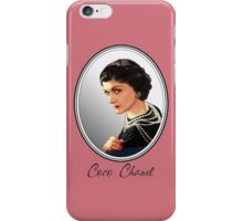Coco Chanel  iPhone Case/Skin