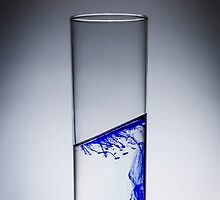 Ink diluted in glass of water by JuanCarranza