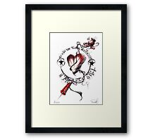 This is War Framed Print