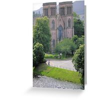 View from Inverness castle across the river Ness Greeting Card