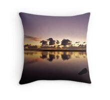 Purple Dawn Throw Pillow