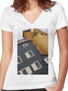 Launceston, Tasmania Women's Fitted V-Neck T-Shirt