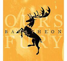 Baratheon Photographic Print