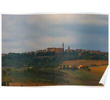 Pienza, Tuscany, Italy Poster
