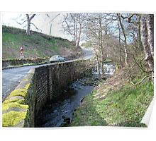 Stonegate Weir in early spring Poster
