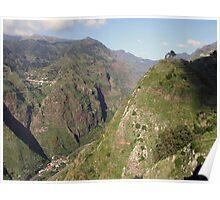 Madeira mountains Poster