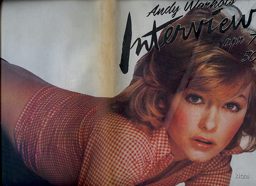 Andy Warhole interview papers April '73/restoration by kitza