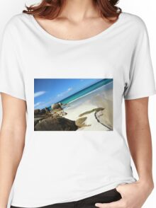 Waterloo Bay, Wilsons Prom NP Women's Relaxed Fit T-Shirt