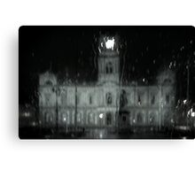 Ballarat Town Hall, Winter Canvas Print