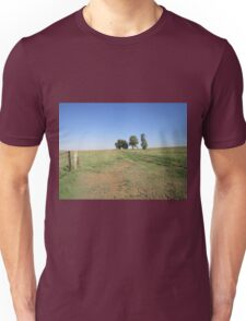 Trees and fence Unisex T-Shirt