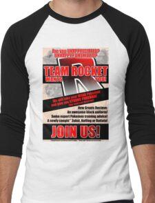 Pokemon - Team Rocket Recruitment Men's Baseball ¾ T-Shirt