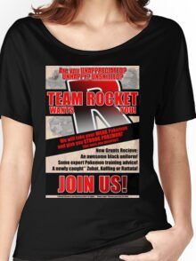 Pokemon - Team Rocket Recruitment Women's Relaxed Fit T-Shirt