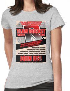 Pokemon - Team Rocket Recruitment Womens Fitted T-Shirt