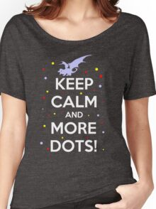 Keep Calm and MORE DOTS! Women's Relaxed Fit T-Shirt