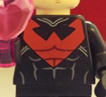 Nightwing Valentines Sticker
