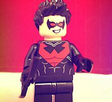 Lego Nightwing by FendekNaughton