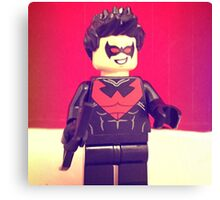 Lego Nightwing Canvas Print