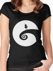 The Nightmare Before the Adventure Women's Fitted Scoop T-Shirt
