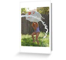 Water Play Greeting Card