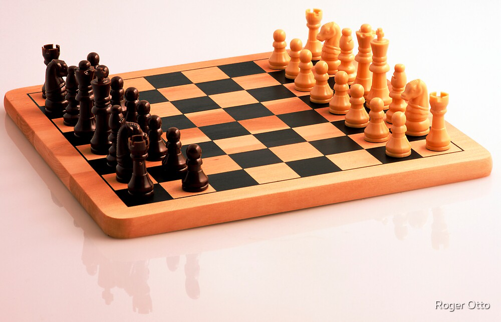 Chess Set by Roger Otto