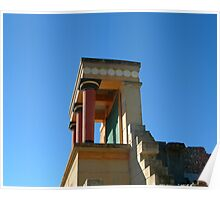 Palace of Knossos Poster