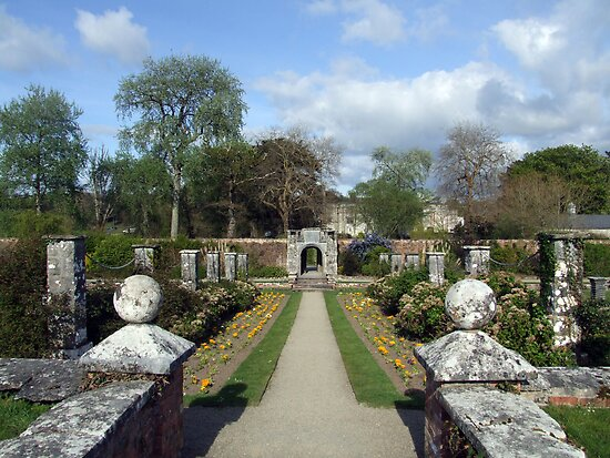 Dromoland walled garden by John Quinn