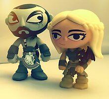 Drogo & Daenerys by FendekNaughton