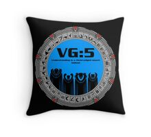 VG:5 Throw Pillow