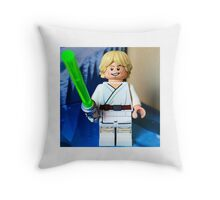 Lego Luke Skywalker Throw Pillow