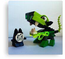Lego Mixel Glurt Canvas Print