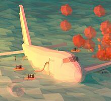 Plane Crash by Nestor Ramos
