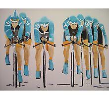 Team Cycle race Photographic Print