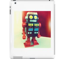 Wind Up Robot iPad Case/Skin