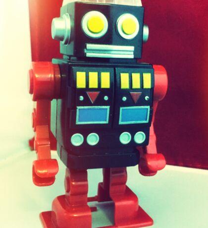 Wind Up Robot Sticker