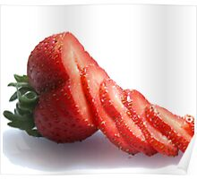 STRAWBERRY SLICES Poster