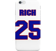 National baseball player Rich Becker jersey 25 iPhone Case/Skin
