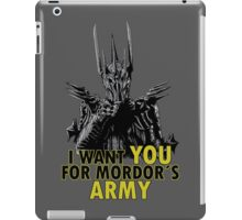 Mordor´s Army iPad Case/Skin