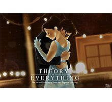The theory of everything Photographic Print
