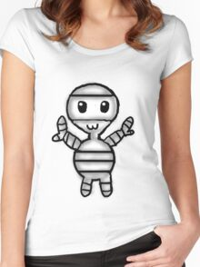 Baby Mummy Women's Fitted Scoop T-Shirt
